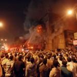burning church-egypt