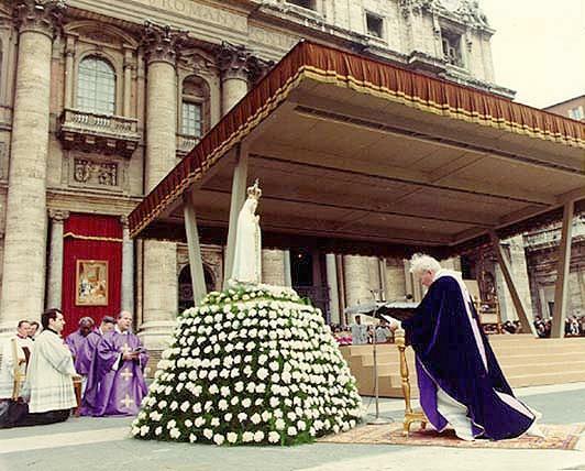 Fatima statue