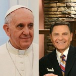 Pope Francis and Kenneth Copeland