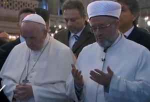 Papież w Błękitnym Meczecie