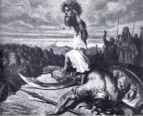 Dawid i Goliad