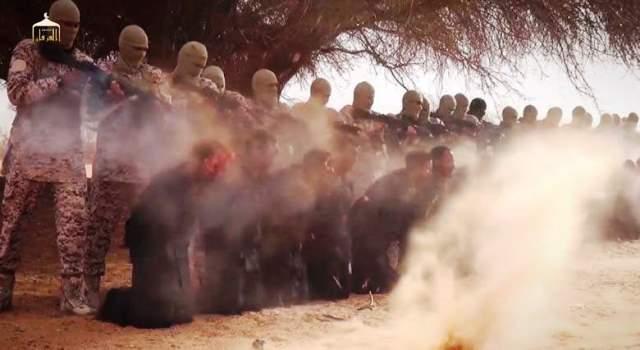 Egzekucja etiopskich chrześcijan przez ISIS 2